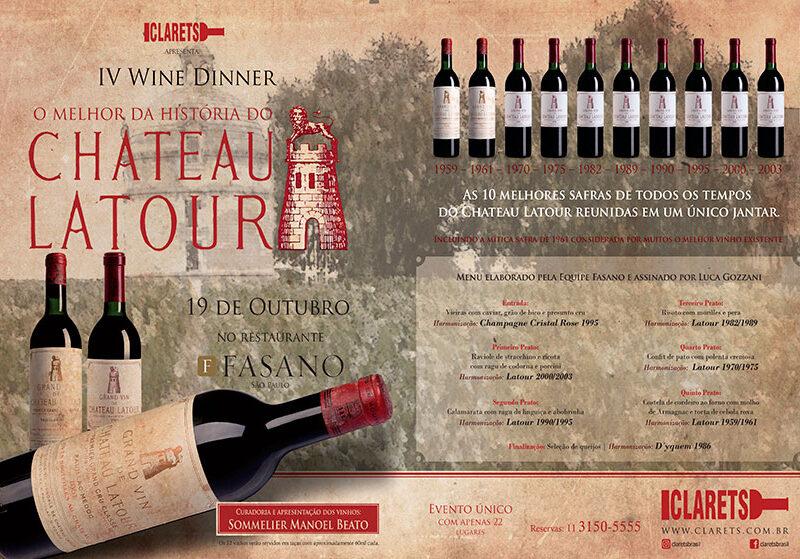 O melhor da história do Château Latour