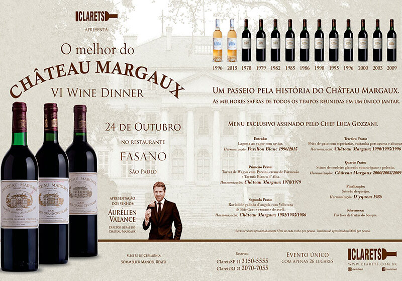 O melhor do Château Margaux