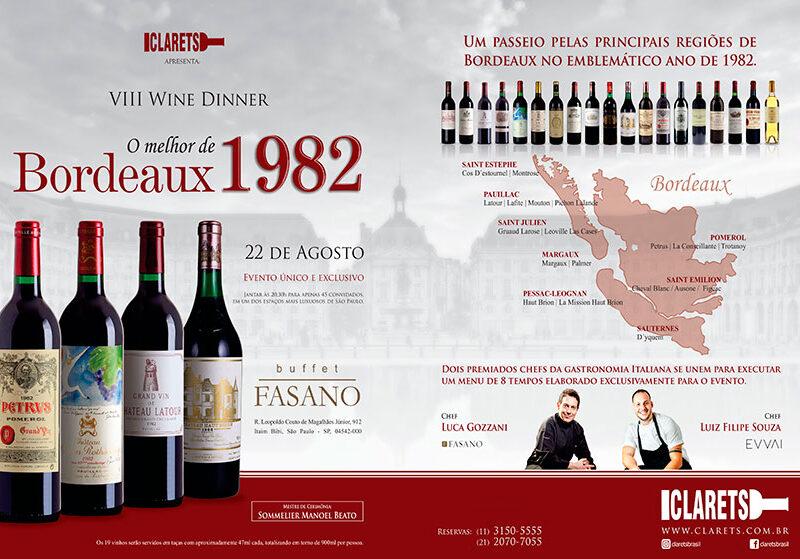 O melhor de Bordeaux 1982